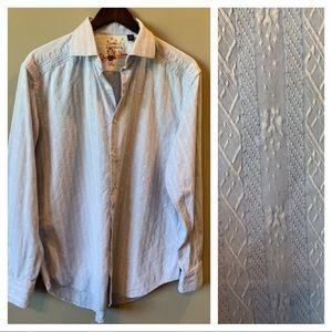 Robert Graham Buttonup Dress Shirt Size Large